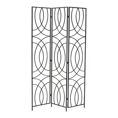 "Cyan Design 69.25"" x 50.25"" Orb 3 Panel Room Divider"
