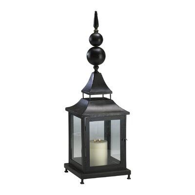 Cyan Design Iron and Glass Scottish Lantern