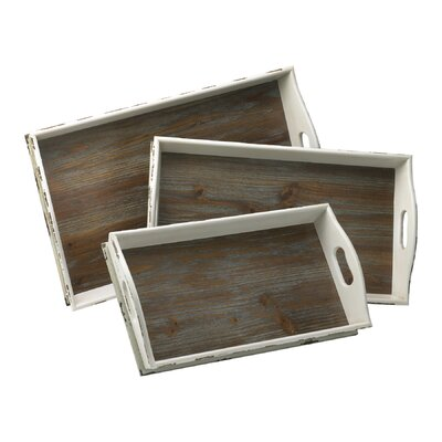 Cyan Design Alder Nesting Rectangular Serving Tray