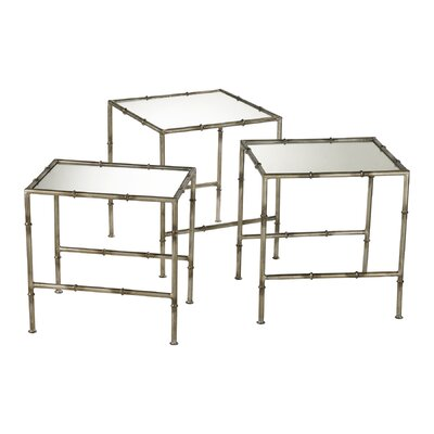 Bamboo 3 Piece Nesting Tables