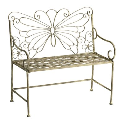 Cyan Design Butterfly Iron Garden Bench