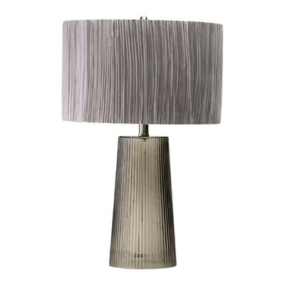 Cyan Design Club Table Lamp in Smoked Gray