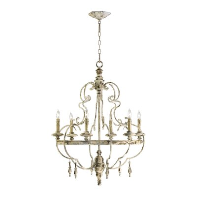 Davinci 6 Light Chandelier