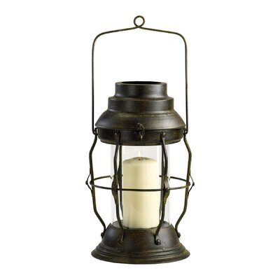 Cyan Design Iron and Glass Willow Lantern