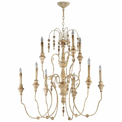 Cyan Design Maison 9 Light Chandelier