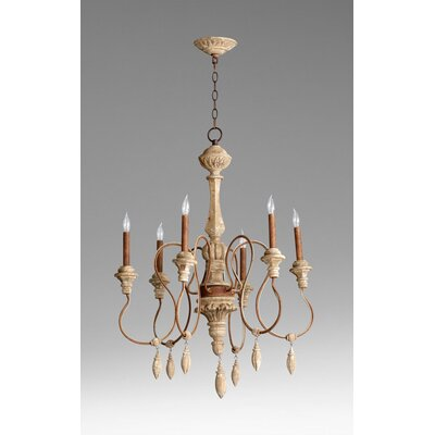 Choat 6 Light Chandelier
