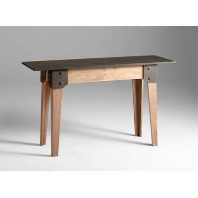Cyan Design Mesa Raw Table in Iron and Natural Wood