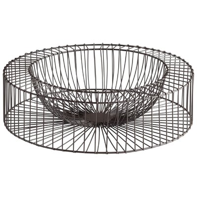 Wire Wheel Basket