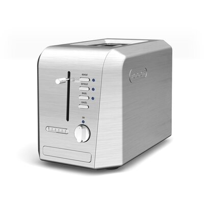DeLonghi 2-Slice Stainless Steel Conventional Toaster