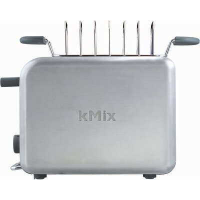 DeLonghi kMix 2-Slice Toaster in Stainless