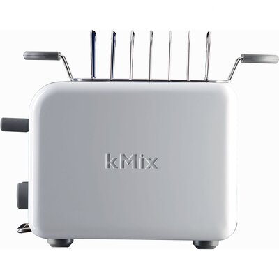 DeLonghi kMix 2-Slice Toaster in White