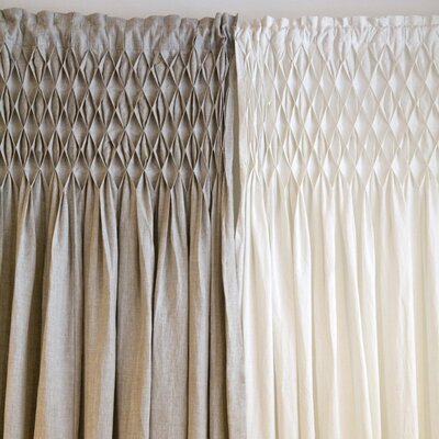Pom Pom At Home Smocked Curtain Panel