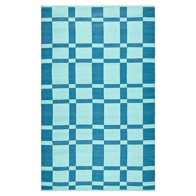 Thom Filicia Rugs Thom Filicia Saddle Sea Blue Rug