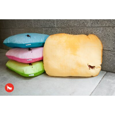 P.L.A.Y. Cotton Candy Pillow Dog Bed in Mango