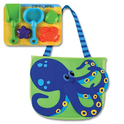 Stephen Joseph Octopus Beach Tote