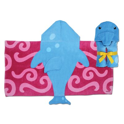 Stephen Joseph Dolphin Hooded Towel