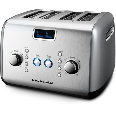 4-Slice Toaster with Motorized Lift
