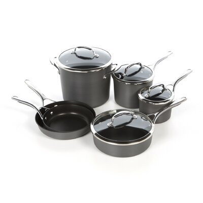 KitchenAid Gourmet Hard Anodized 10-Piece Cookware Set