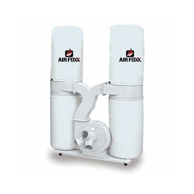 Airfoxx 32 cm 5 HP 3 Phase 220/440V 3990 CFM Bag Dust Collector