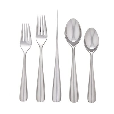 Dansk Erol 5 Piece Plate Ace Flatware Set
