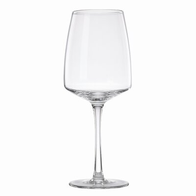 Dansk Classic Fjord Red Wine Glass in Clear