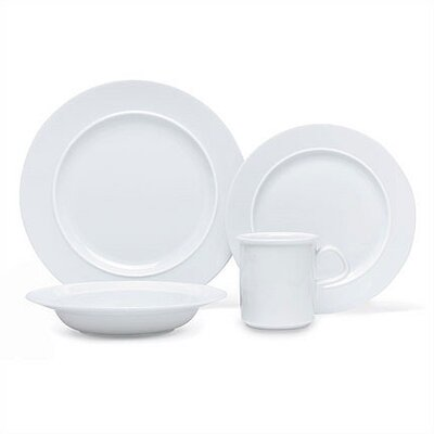 Cafe Blanc 4 Piece Place Setting