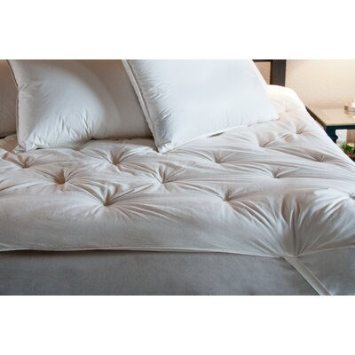 Ogallala Comfort Company Deluxe Wool Mattress Enhancer