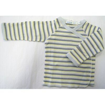 Under the Nile Twenty-Four Seven Long Sleeve Side Snap Shirt in Boy Stripes