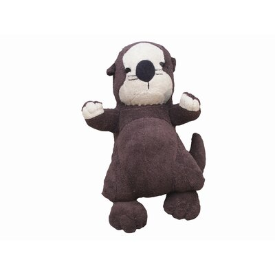 Under the Nile Endangered Species Sea Otter Toy in Brown