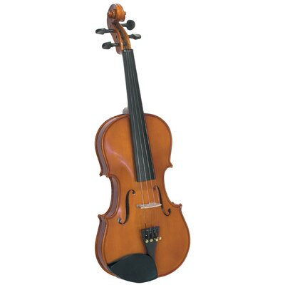 Saga Cremona Novice 1/10-Size Violin Outfit with Rosewood