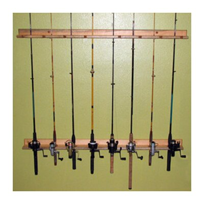 Del Sol Racks Del Sol Fishing Rod Storage Rack 8 Space Ceiling