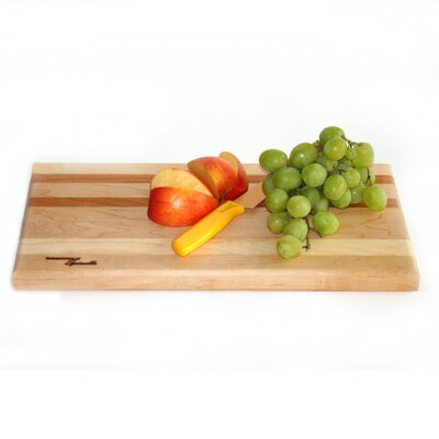 Tableboards Medium Maple Utility Cutting Board with Cherry Accent