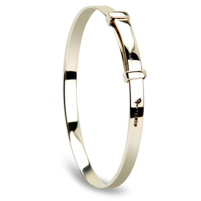 Baby Extensible Sterling Silver Bangle