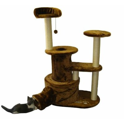 "Kitty Mansions 50"" Tucson Cat Tree"