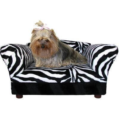 Mini Dog Sofa Bed with Wooden Leg