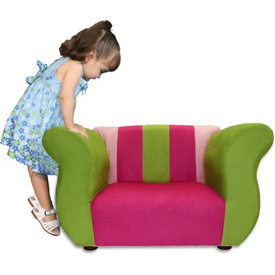 Fantasy Furniture Kid's Fancy Microsuede Chair