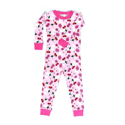 New Jammies Cherry Blossoms Organic Cotton Pajama