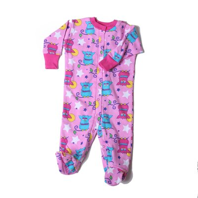 New Jammies Organic Starry Night Owls Footie