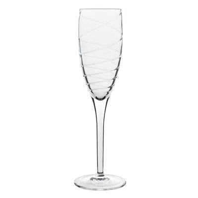 Luigi Bormioli Romantica Champagne Flute Glass (Set of 4)