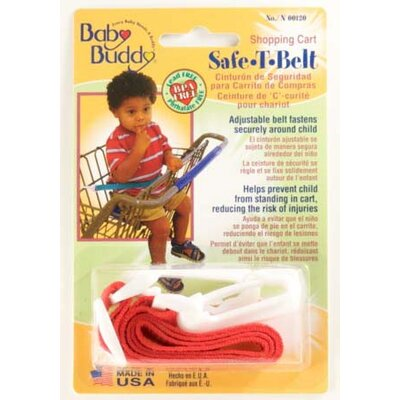 Baby Buddy Shopping Cart Safety Belt