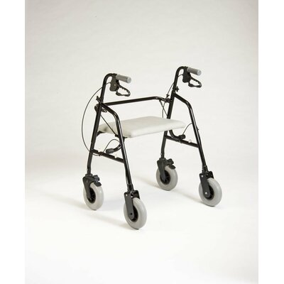 TFI Extra Wide Rollaider Rollator in Black