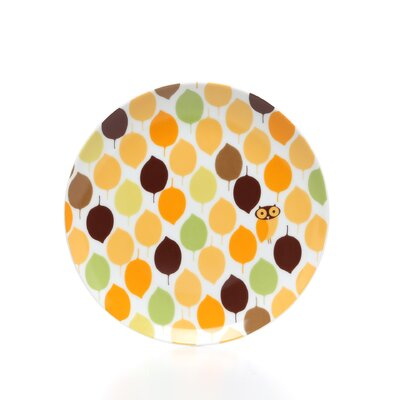 "Rachael Ray Little Hoot 8"" Salad/Dessert Plates: Set of (4)"