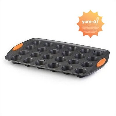 Rachael Ray Yum-O Nonstick 24-Cup Mini Muffin Pan