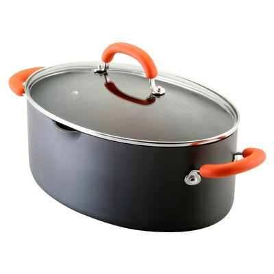 Rachael Ray Hard Anodized Nonstick 8-Quart Covered Pasta Pot