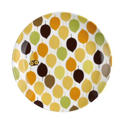 Rachael Ray Dinnerware Little Hoot Salad Plate (Set of 4)