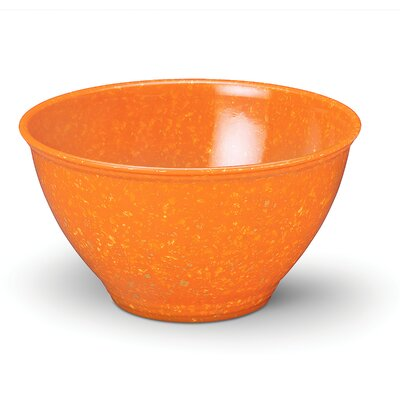 Rachael Ray Rachael Ray Garbage Bowl with Non-slip Base in Orange