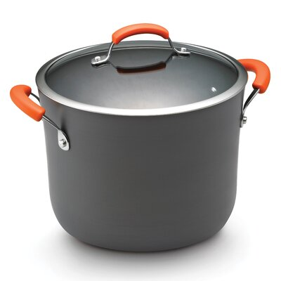 Rachael Ray Hard Anodized II Nonstick 10 Qt. Covered Stockpot