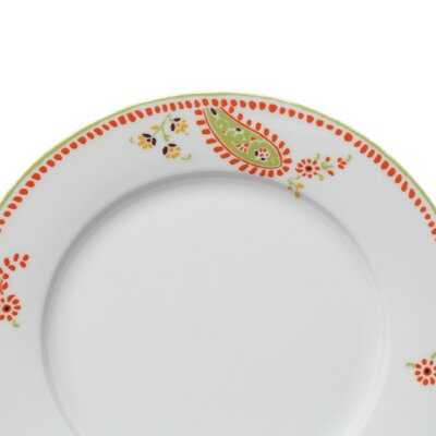 "Rachael Ray Paisley 10.5"" Dinner Plates: Set of (4)"
