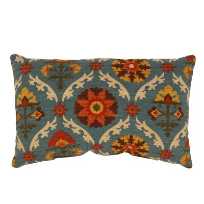 Mayan Medallion Rectangular Throw Pillow