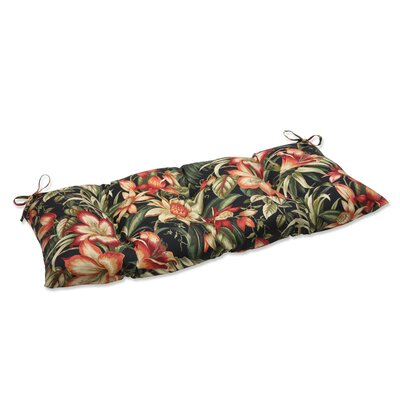 Botanical Glow Wrought iron Loveseat Cushion